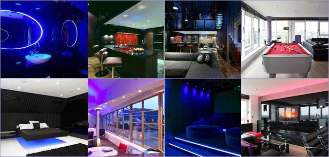 bachelor pad lighting. Bachelor Pad Design. Interior Design, Project Management, Lighting Design P